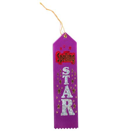 Spelling Star Award Ribbon