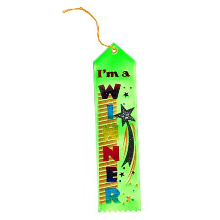 I'm A Winner Jeweled Award Ribbon