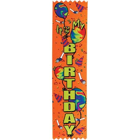 Award Ribbon - It's My Birthday