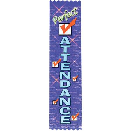 Award Ribbon - Perfect Attendance