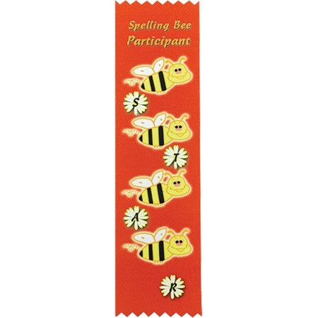 Award Ribbon - Spelling Bee Participant