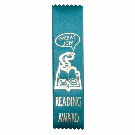 Reading Award Ribbon