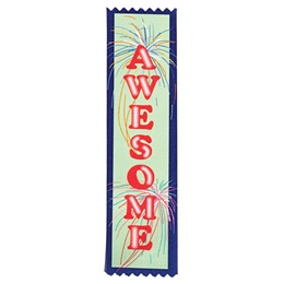 Award Ribbons - Awesome Fireworks