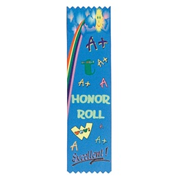 Full-color A Honor Roll Ribbon