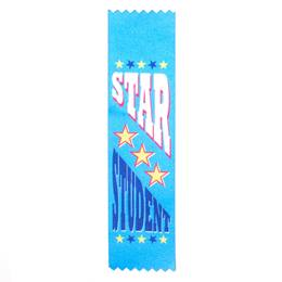 Award Ribbons - Star Student With Stars