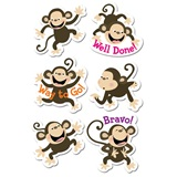 Monkey Award Stickers