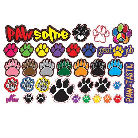 Paw Sticker Sheet