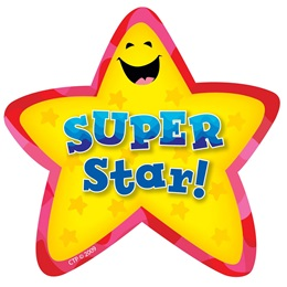 Super Star Badges - 36/pkg