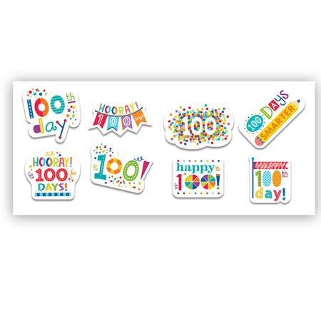 100th Day Stickers