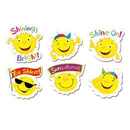 Sunshine Award Stickers
