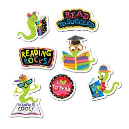 Reading Rocks Award Stickers