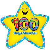 100 Days Star Badges - 36/pkg