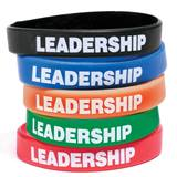 Leadership Wristband Assortment, 25/pkg