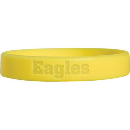 Engraved Silicone Wristband - Eagles
