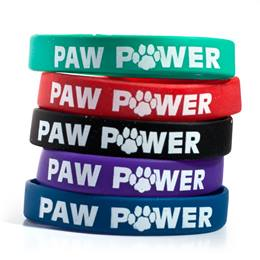 Paw Power Silicone Wristband