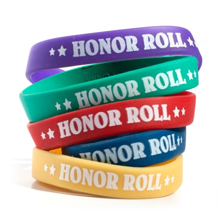 Honor Roll Wristband