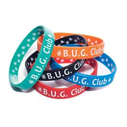 Two Way Wristband - BUG Club, Assortment, 25/pkg