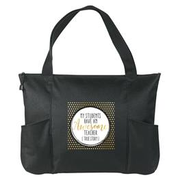 Zippered Tote Bag - Awesome Teacher