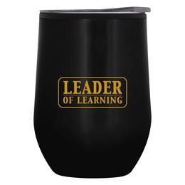 Stemless Steel Tumbler - Leader of Learning