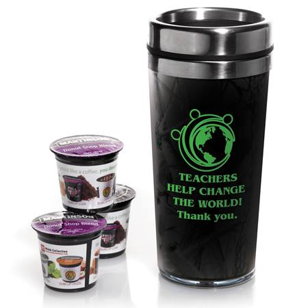 Travel Mug with Coffee Pods