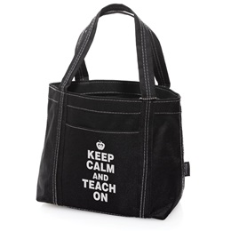 Mini Tote - Keep Calm and Teach On