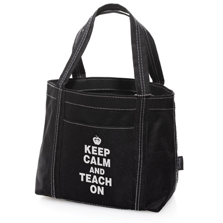 Teacher Appreciation Mini Tote - Keep Calm and Teach On