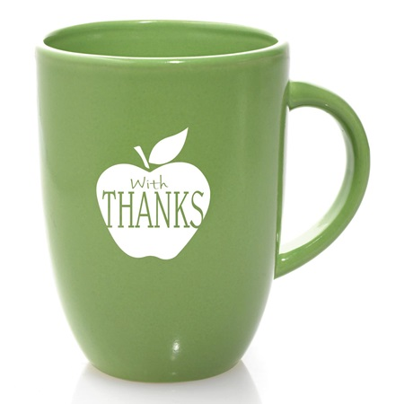 Coffee Mug - With Thanks