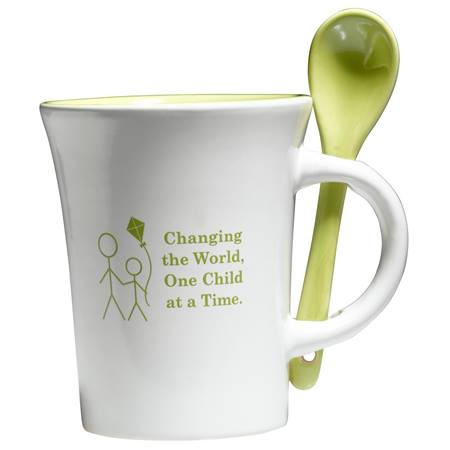 Spooner Mug - Changing the World One Child at a Time