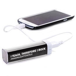 Power Bank - I Teach Therefore I Rock