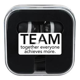Ear Buds in Case -   TEAM