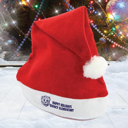 how to make santa hat from felt