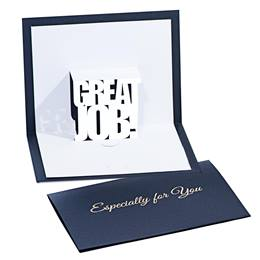 Great Job Pop-up Gift Card Holder