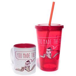 Mug and Tumbler Gift Set - You Made the Nice List