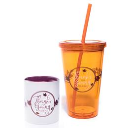 Mug and Tumbler Gift Set - Thanks for Giving Your All
