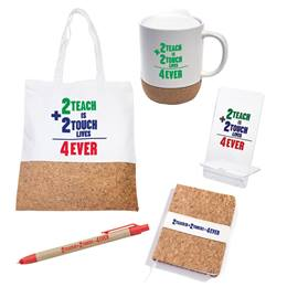Teacher Appreciation Gift Set - 2 Teach is 2 Touch Lives 4 Ever