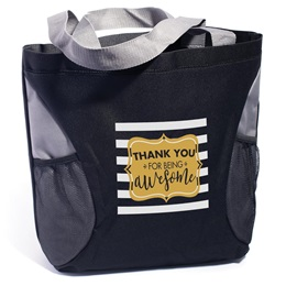 Appreciation Tote Bag - Thank You For Being Awesome