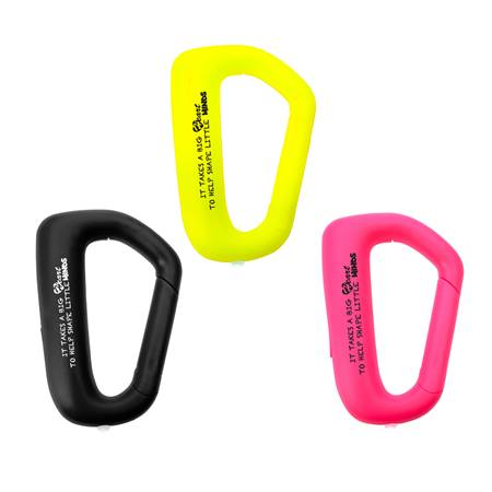 Appreciation Carabiner Light - It Takes a Big Heart to Help Shape Little Minds