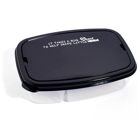 Appreciation Lunch Box - It Takes a Big Heart to Help Shape Little Minds