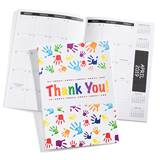 Academic Planner - Thank You Handprints