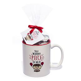 Mug Cake Set/Chocolate Cake - You Wanna Piece of Me?