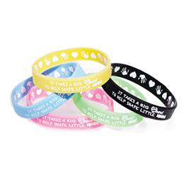 Two Way Wristband - It Takes a Big Heart