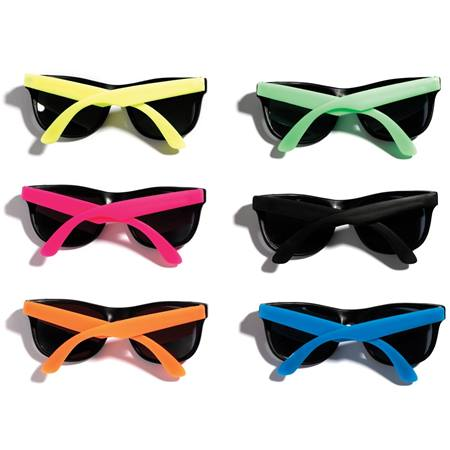 Junior Size Neon Sunglasses