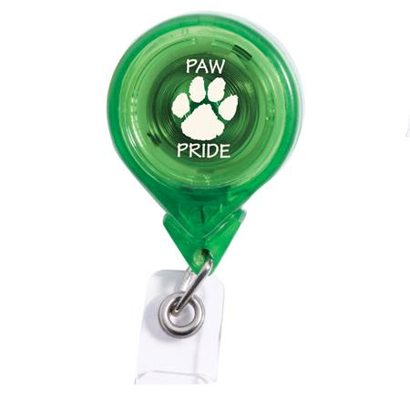 Round Badge Reel - Translucent Color
