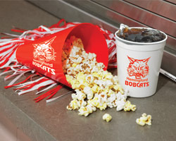 Andersons School Spirit Stadium Cup and Popcorn