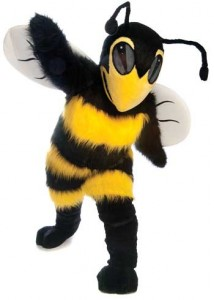 Andersons Middle Zone Hornet Mascot Costume