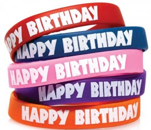 Andersons Middle School Birthday Wristband