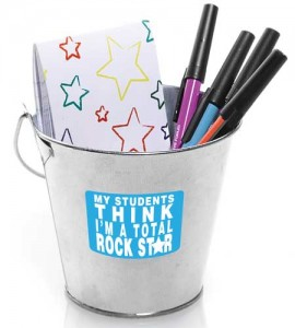 Andersons Middle Zone Teacher Appreciation Tin Bucket