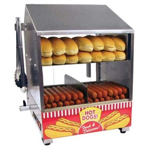 Andersons School Spirit Concessions Hot Dog Steamer