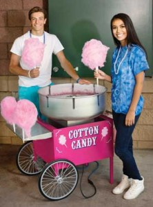 Pink Cotton Candy for Breast Cancer Awareness