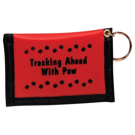 Paw Power Wallet - Red